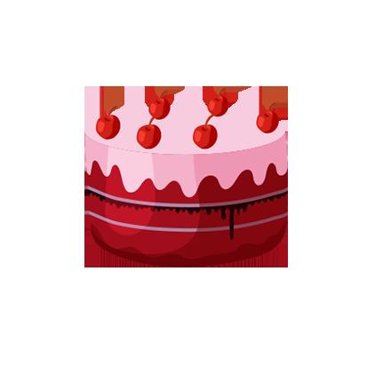 红⑦队:大乔陪玩收到礼物蛋糕