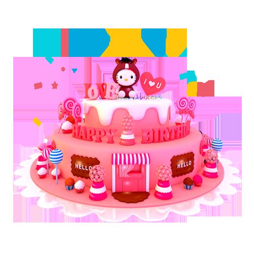 红⑦队:大乔陪玩收到礼物生日蛋糕